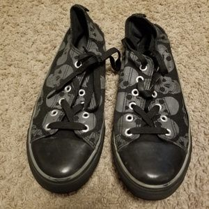 Hottopic Skull Shoes